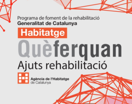 ajuts rehabilitació catalunya 2018