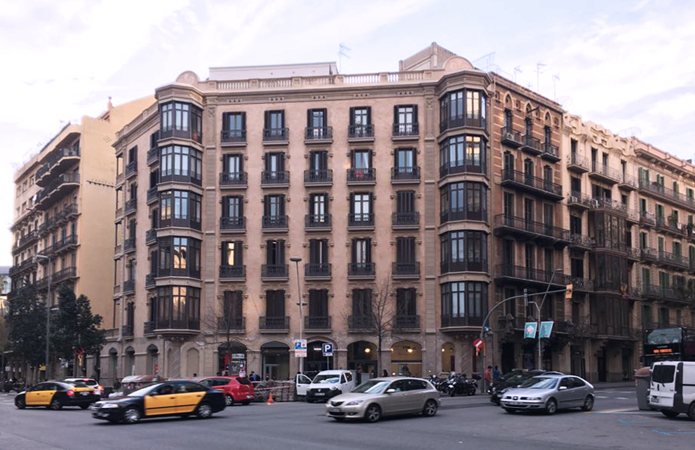 balmes 61 restauració edifici barcelona