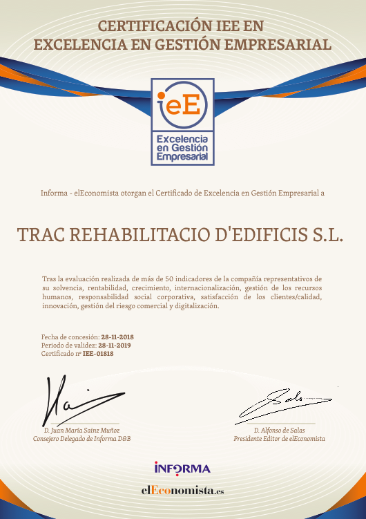 certificat IeE