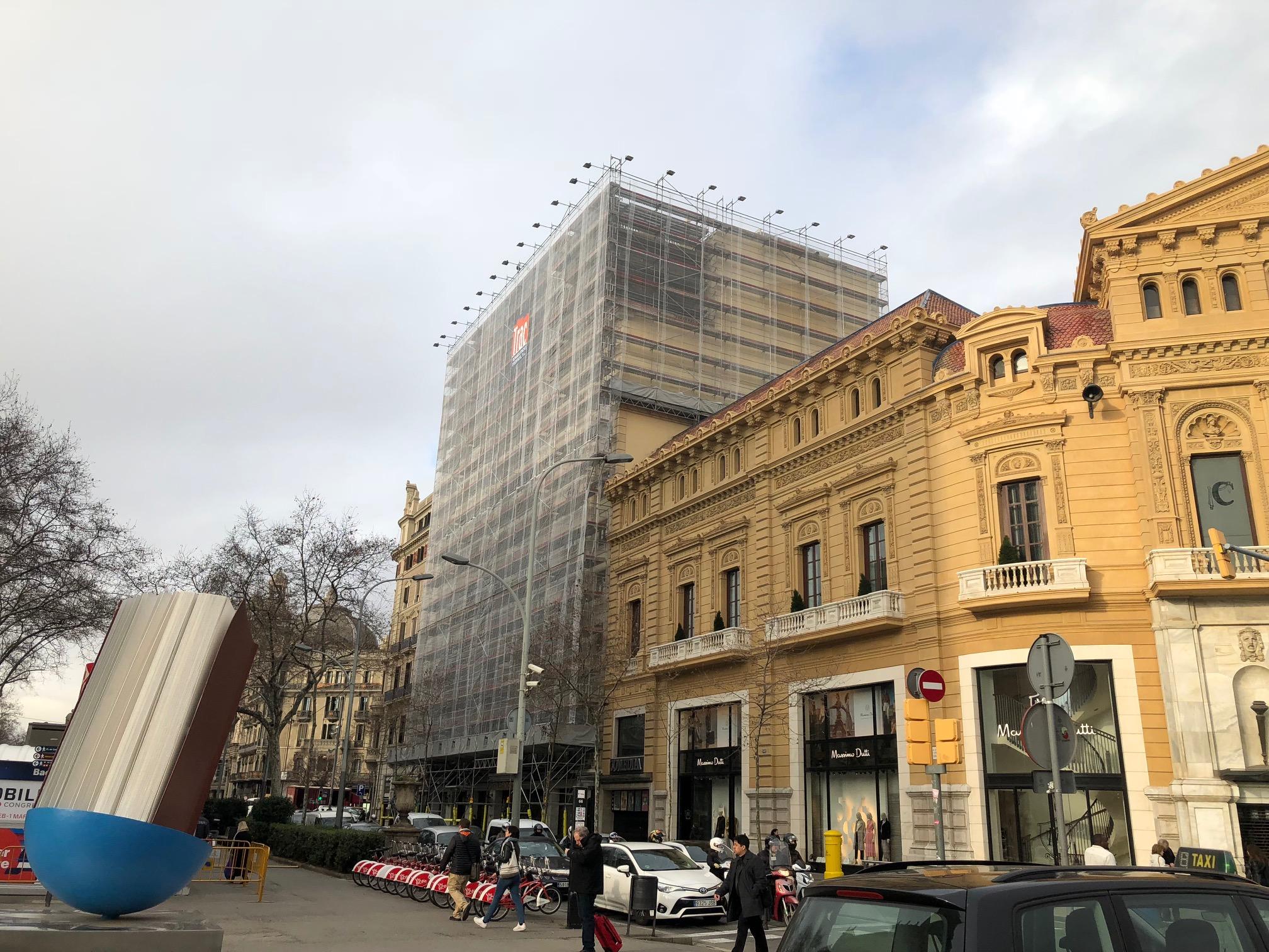 restauració hotel av. palace barcelona