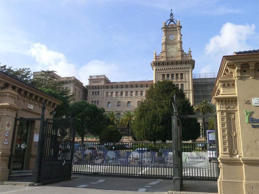 restauració escola pia sarrià barcelona